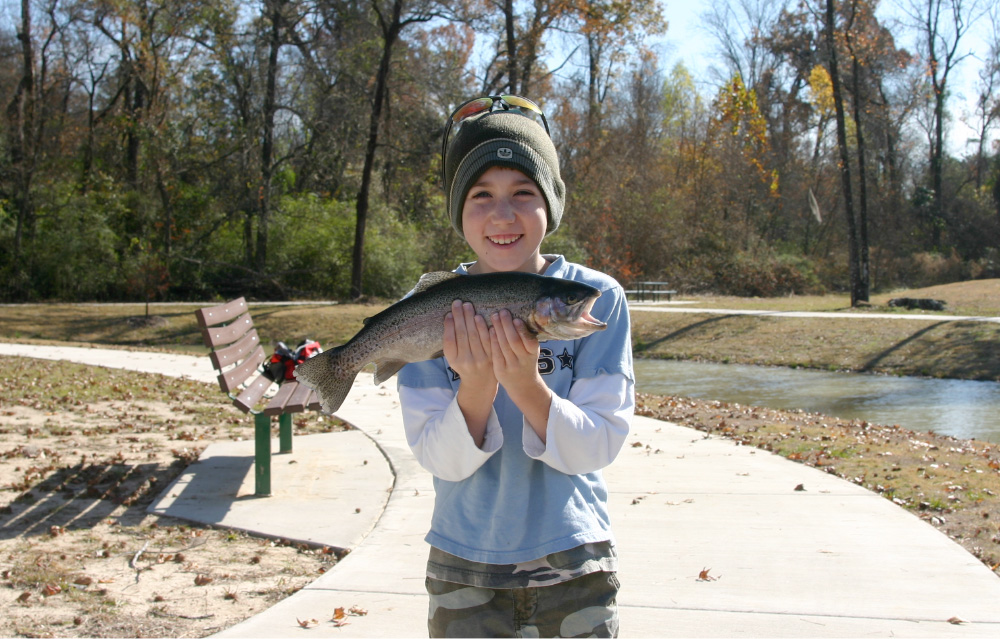 Rainbow Trout Stocking | BREC - Parks & Recreation in East Baton