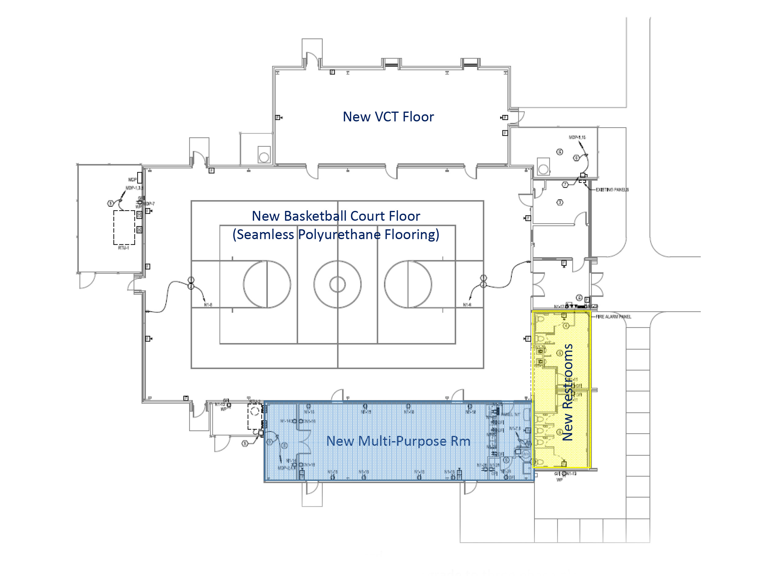 Antioch Boulevard Park 2017 Renovation Floor Plan