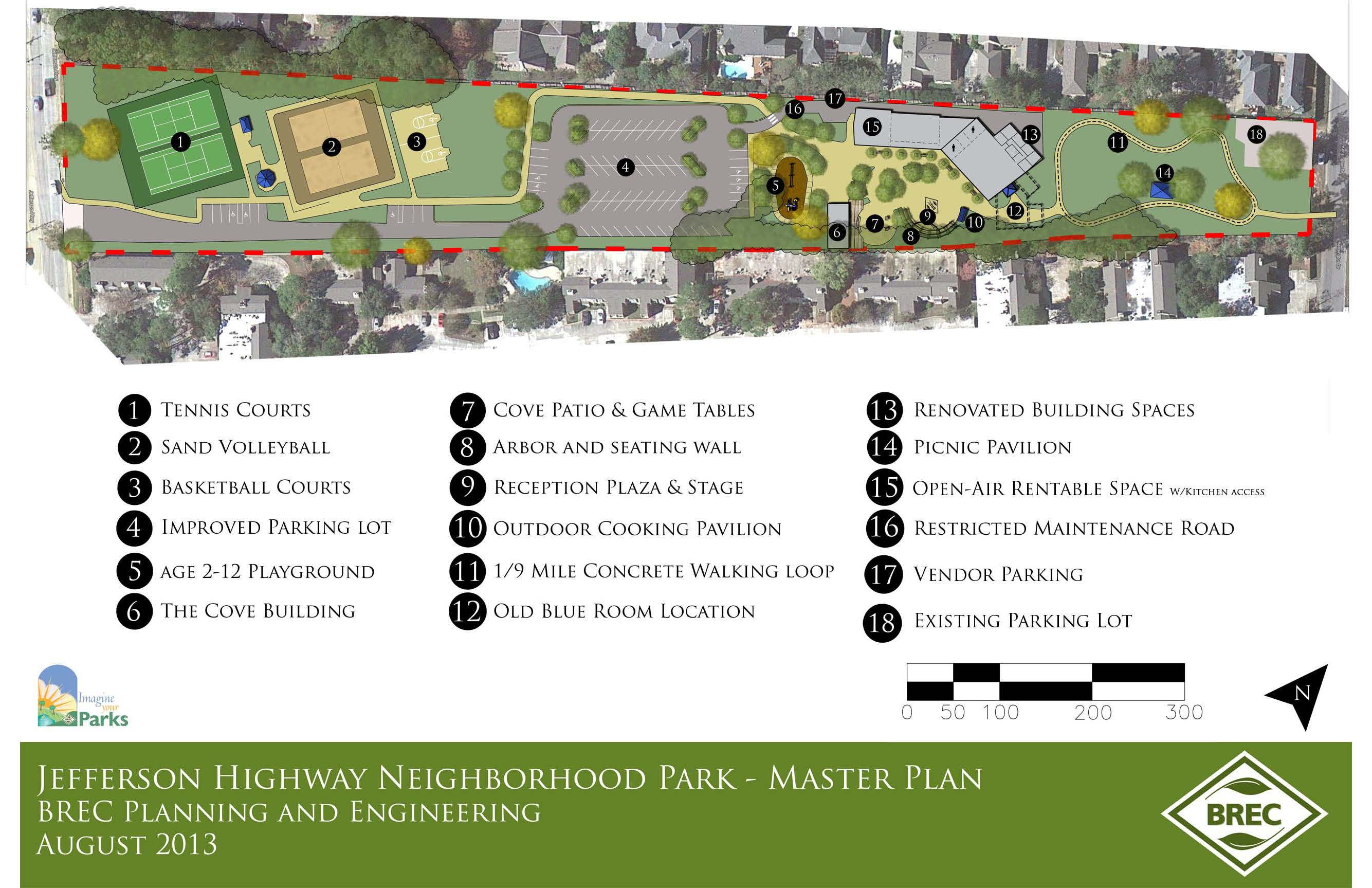 Howell Park Conceptual Master Plan
